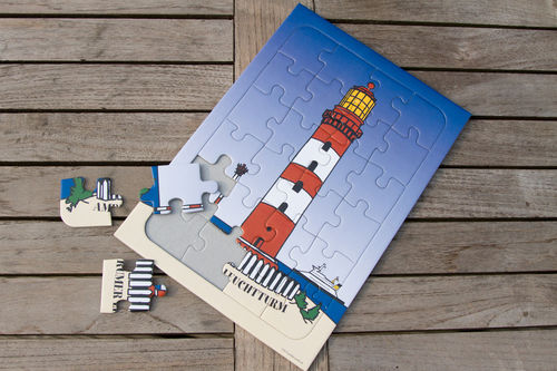 kids puzzle Lighthouse